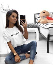 Majica - kod 951 - 2 - bijela