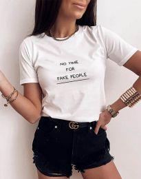 Majica - kod 2279 - bijela