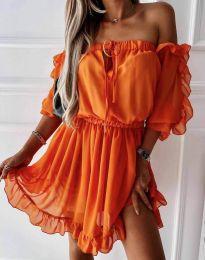 Haljina - kod 0223 - narančasta