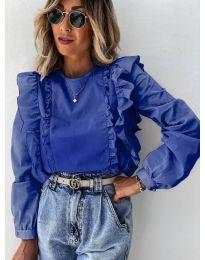 Bluza - kod 6615 - tamno plava