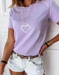 Majica - kod 3701 - svijetlo ljubičasta