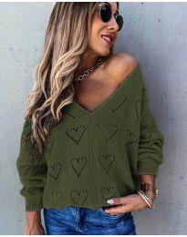 Bluza - kod 137 - maslinasto zelena