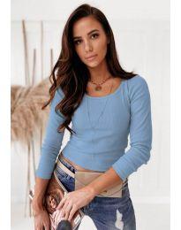 Bluza - kod 8365 - svijetlo plava