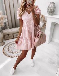 Haljina - kod 8292 - svijetlo ružičasta