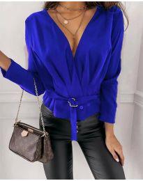 Bluza - kod 5525 - plava