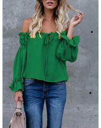 Bluza - kod 5574 - zelena