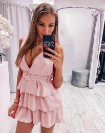 Haljina - kod 6939 - svijetlo ružičasta