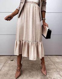 Suknja - kod 3463 - bež