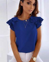 Bluza - kod 3299 - tamno plava