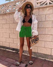 Kratke hlače - kod 6614 - 2 - zelena