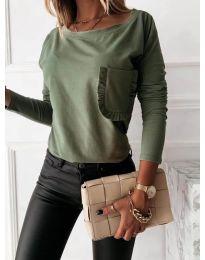 Bluza - kod 0382 - zelena