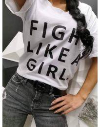 Majica - kod 467 - 1 - bijela