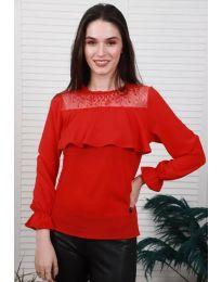 Bluza - kod 0628 - 4 - crvena