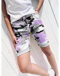 Kratke hlače - kod 5077-3 - šarena