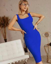 Haljina - kod 5965 - plava