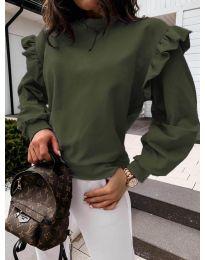 Bluza - kod 6613 - maslinasto zelena