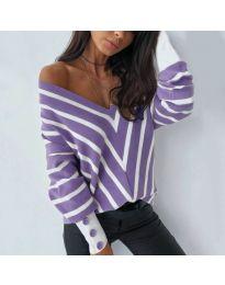 Bluza - kod 6311 - ljubičasta