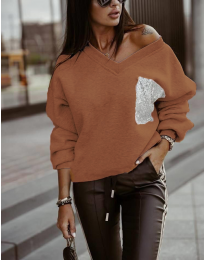 Bluza - kod 904 - smeđa