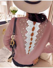 Bluza - kod 7077 - roze