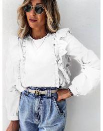Bluza - kod 6615 - bijela