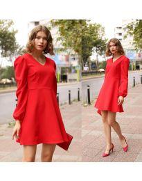 Haljina - kod 1478 - 1 - crvena