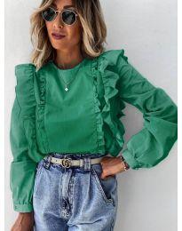Bluza - kod 6615 - maslinasto zelena