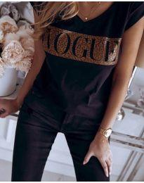 Majica - kod 2621 - crna