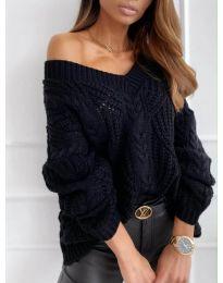 Džemper - kod 407 - crna