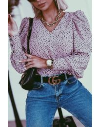 Bluza - kod 3250 - ljubičasta