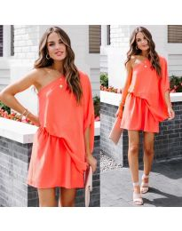 Haljina - kod 9933 - narančasta