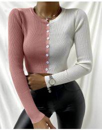 Bluza - kod 6366 - 6 - šarena