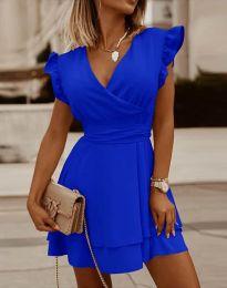 Haljina - kod 5654 - plava