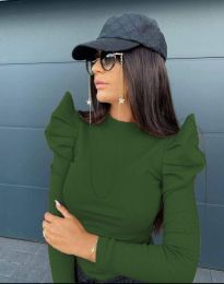 Bluza - kod 2838 - 5 - zelena