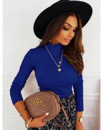 Bluza - kod 7071 - tamno plava