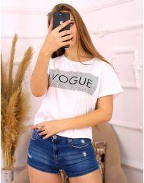 Majica - kod 3539 - bijela