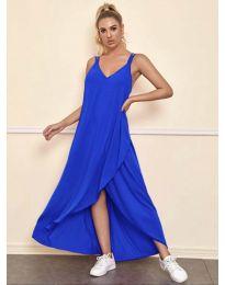 Haljina - kod 3083 - plava