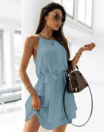 Haljina - kod 9968 - svijetlo plava