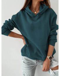Bluza - kod 186 - tamno zelena