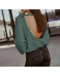 Bluza - kod 2666 - tamno zelena