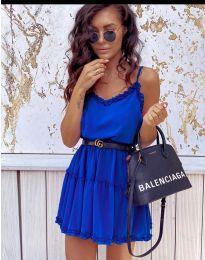 Haljina - kod 7758 - tamno plava