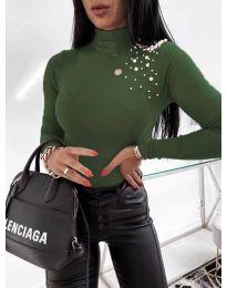 Polo bluza - kod 2552 - maslinasto zelena