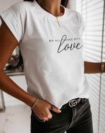 Majica - kod 2931 - bijela