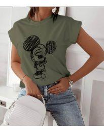 Majica - kod 709 - maslinasto zelena