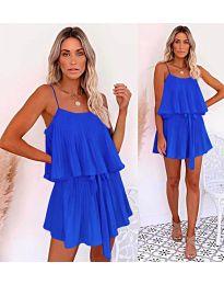 Slobodna haljina u plavoj boji - kod  721