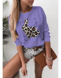 Bluza - kod 4001 - ljubičasta