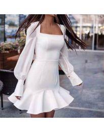Haljina - kod 3605 - bijela