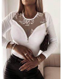 Bluza - kod 8782 - bijela