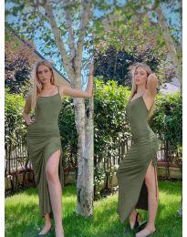 Haljina - kod 7858 - maslinasto zelena