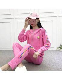 Sportski komplet - kod 8030 - 3 - roze