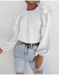 Bluza - kod 1603 - 3 - bijela